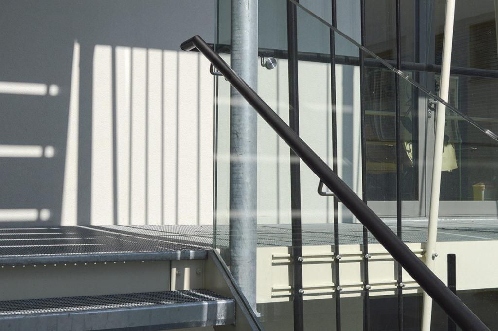 Ziersdorfer Treppe, Kunst am Bau, Ines Hochgerner