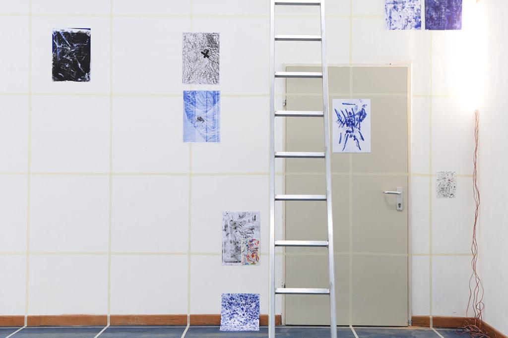Alien in a Box installation Collaboration