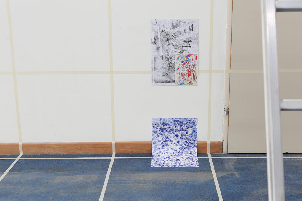 Alien in a Box Kaegi Mairer Hochgerner installation view collaborative piece